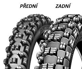 Michelin CROSS COMPETITION S12 XC 120/90 -18 TT Zadní Terénní
