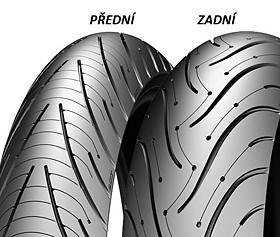 Michelin PILOT ROAD 3 180/55 ZR17 73 W TL A, Zadní Sportovní/Cestovní