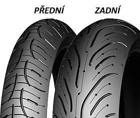 Michelin PILOT ROAD 4 GT F 120/70 ZR17 58 W TL Přední Sportovní/Cestovní