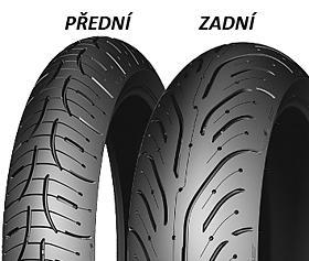 Michelin PILOT ROAD 4 180/55 ZR17 73 W TL Zadní Sportovní/Cestovní