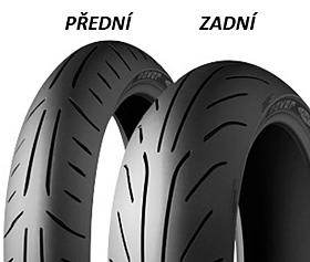 Michelin POWER PURE SC 120/70 -12 58 P TL RF RF, Přední/Zadní Skútr