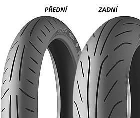 Michelin POWER PURE 190/50 ZR17 73 W TL Zadní Sportovní/Cestovní