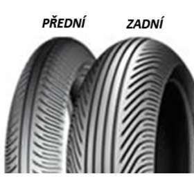 Michelin POWER SUPERMOTO RAIN 120/75 R16,5 TL Mokrá směs, Přední Závodní