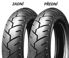 Michelin S1 80/100 -10 46 J TL/TT Přední/Zadní Skútr