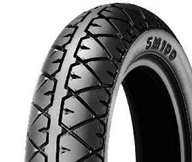 Michelin SM100 120/70 -10 54 L TL/TT RF RF, Přední/Zadní Skútr