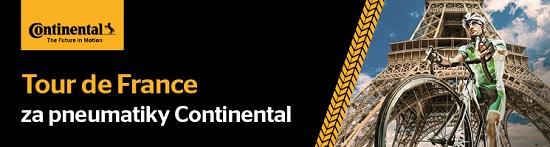 Znásobte svoji výhru s pneumatikami Continental